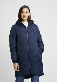 Modern Eternity - HARPER THIGH COCOON PUFFER COAT - Winter coat - navy - 3