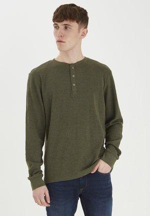 TEE - Langærmede T-shirts - dusty olive