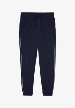 Tracksuit bottoms - blu admiral/bianco