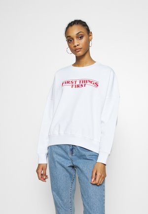 PRIO  - Sweatshirt - white
