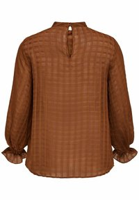 ONLY Carmakoma - Blouse - tobacco brown - 5