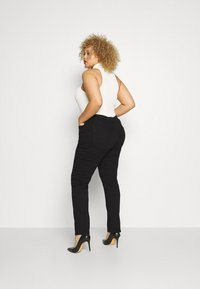 Anna Field - STRAIGHT LEG - Straight leg jeans - black denim - 2