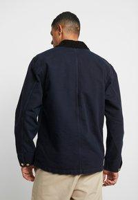 Carhartt WIP - MICHIGAN COAT DEARBORN - Summer jacket - dark navy rinsed - 2