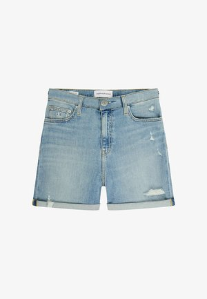 Denim shorts - denim light