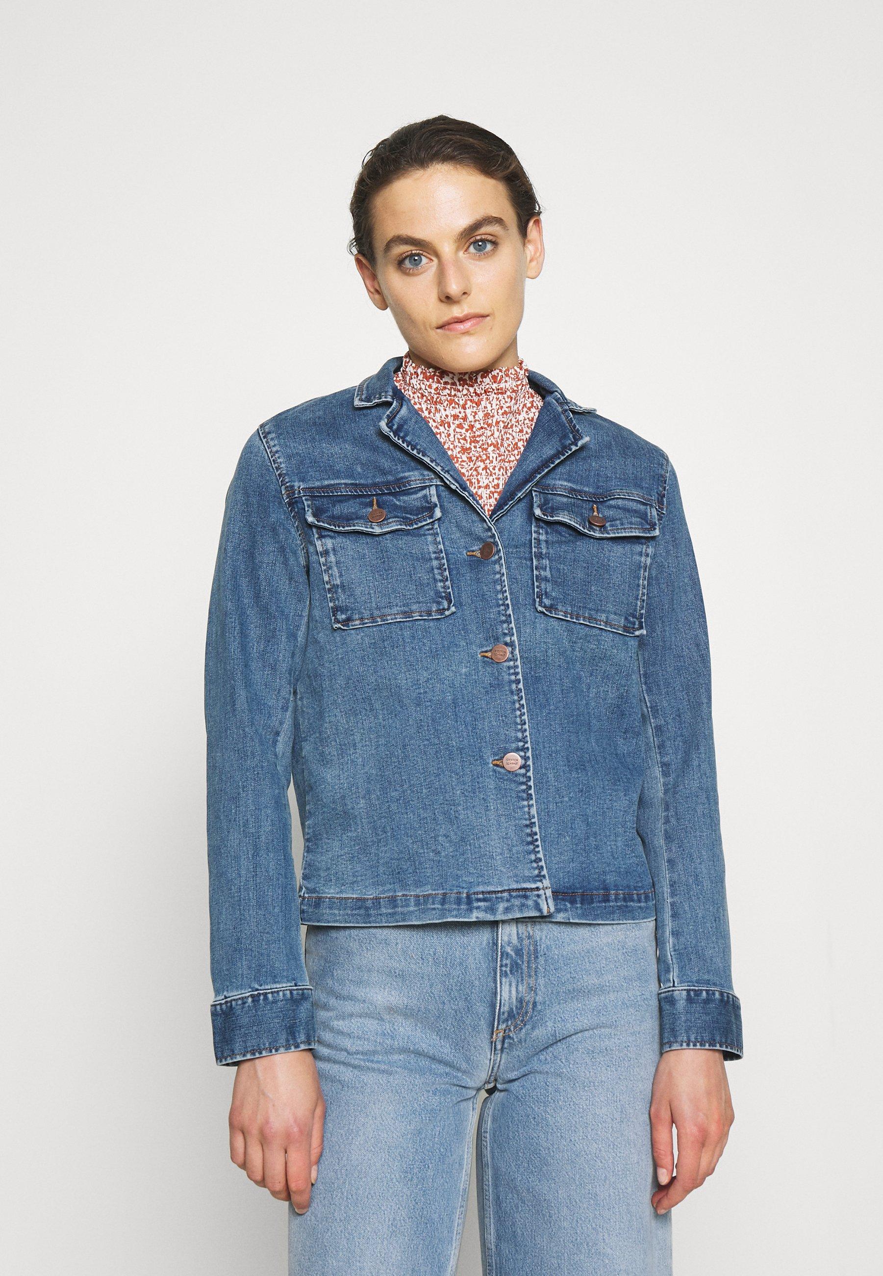 Femme CAROLYNE RANCHERO JACKET - Veste en jean