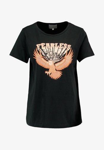 CUGABRIELLA - Camiseta estampada - black