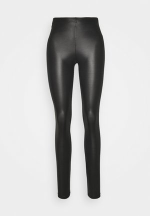 VMROCK ON SHINY - Leggings - black