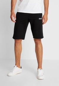 Diadora - BERMUDA CORE LIGHT - Sports shorts - black - 0