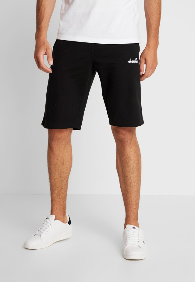 BERMUDA CORE LIGHT - Pantaloncini sportivi - black