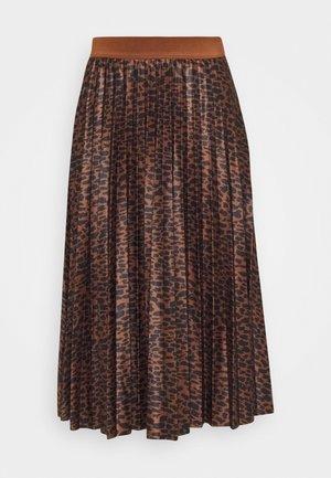 VINITBAN PRINT SKIRT - A-line skirt - tortoise shell