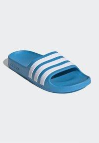adidas Performance - ADILETTE AQUA SWIM - Pool slides - blue - 2