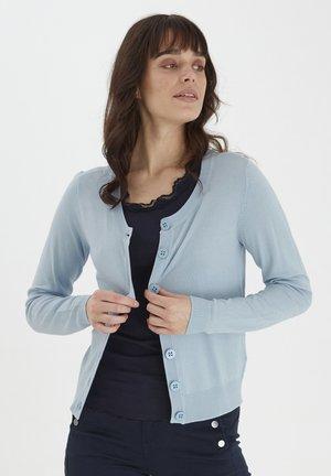 Kardigan - cashmere blue