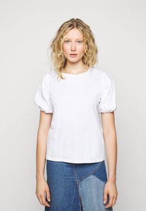 TOPLINE - T-shirt z nadrukiem - blanc
