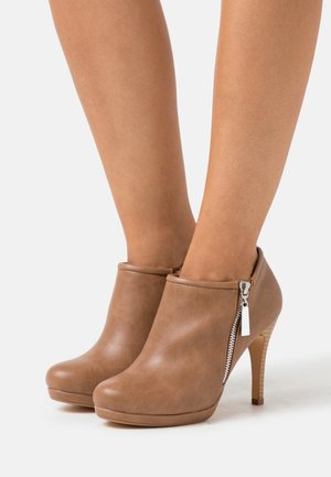 CLAUDIA - High heeled ankle boots - neutral