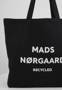 Mads Nørgaard - BOUTIQUE ATHENE - Tote bag - black/white - 2
