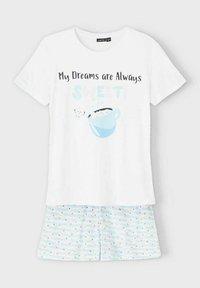 LMTD - SET - Pyjama set - bright white - 2