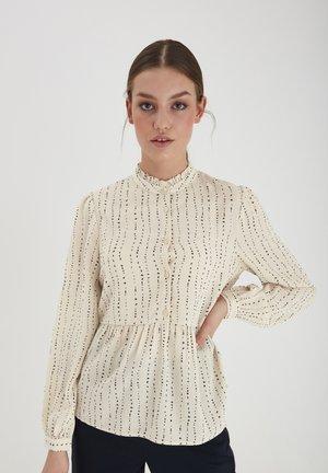 IHBASIA - Button-down blouse - tapioca