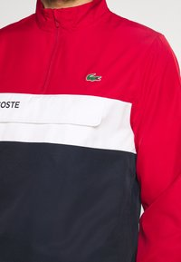 Lacoste Sport - TRACKSUIT - Tracksuit - ruby/navy blue/white - 7