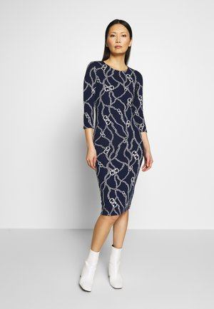TUBEDRESS - Pouzdrové šaty - deep indigo