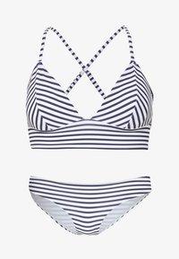 ONLY - ONLHOLLY SET - Bikini - bright white - 4