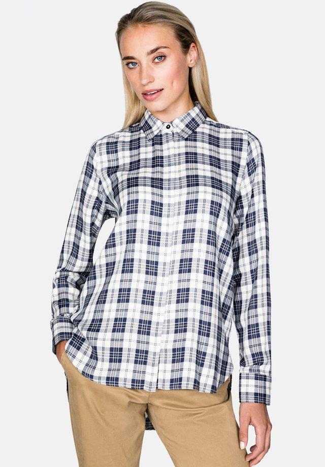LUZYNDA - Button-down blouse - dark blue