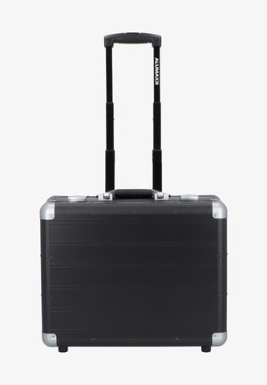 Wheeled suitcase - black matt