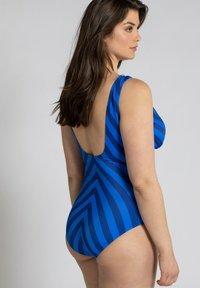 Ulla Popken - Swimsuit - kobaltblau - 1