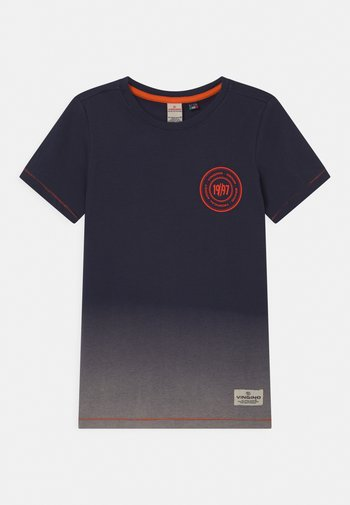 HELON - Print T-shirt - dark blue