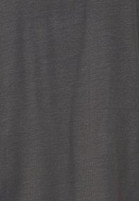 Vero Moda Petite - VMAVA PLAIN - Basic T-shirt - asphalt - 2