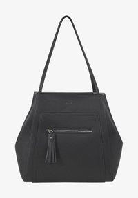 TOM TAILOR - MIT ANHÄNGER - Handbag - schwarz/black - 0