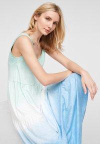 s.Oliver - Jerseyjurk - turquoise tie dye - 6