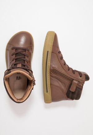 PORTO - Vysoké tenisky - brown