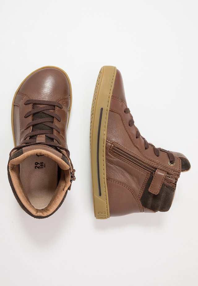 PORTO - High-top trainers - brown