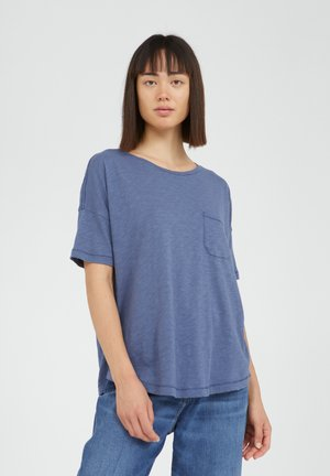 MELINAA - Basic T-shirt - foggy blue