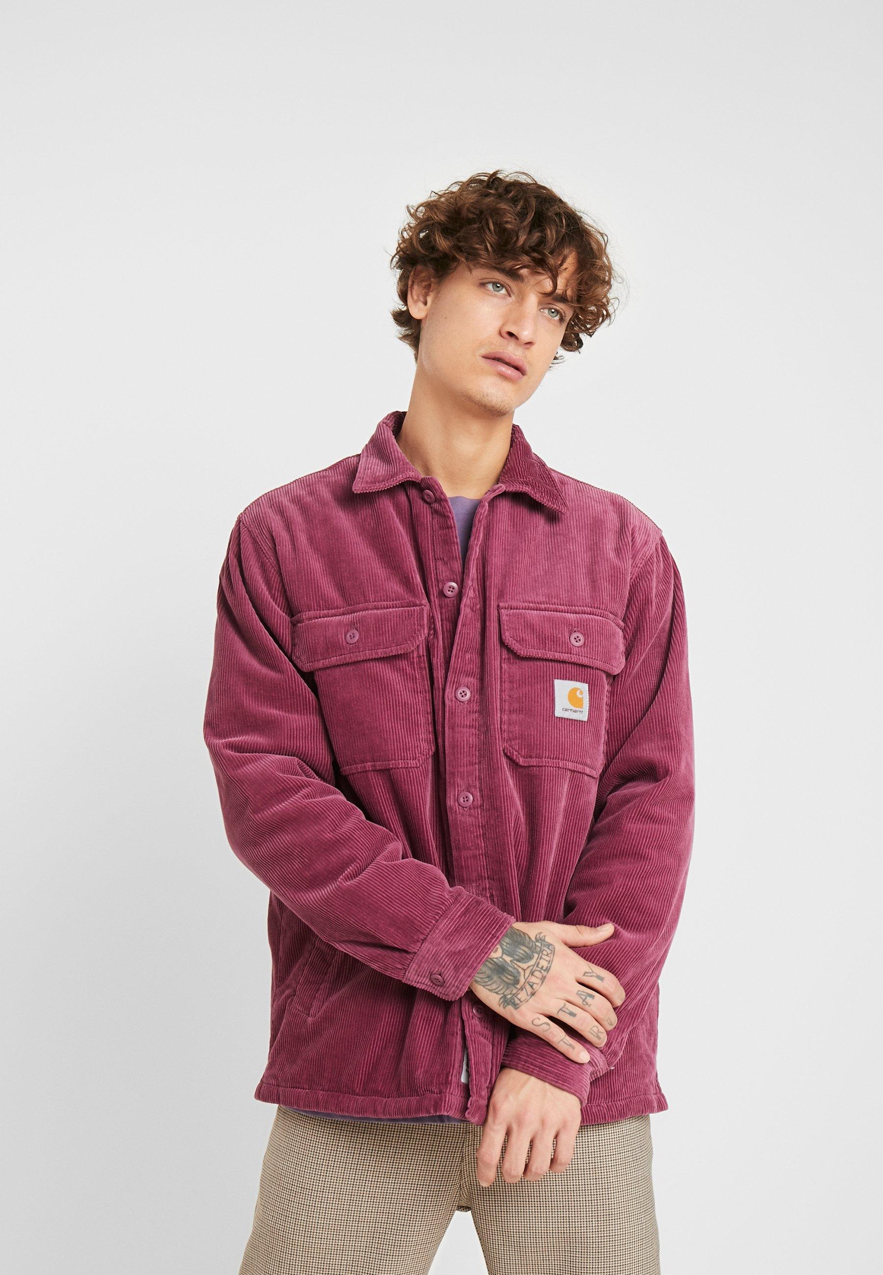 Netthandel Carhartt WIP Whitsome Shirt Cord Jakke hos Blue