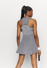Nike Performance - DRESS - Sportklänning - black/white - 2