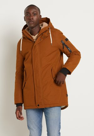 SOFT  - Winter coat - equestrian brown