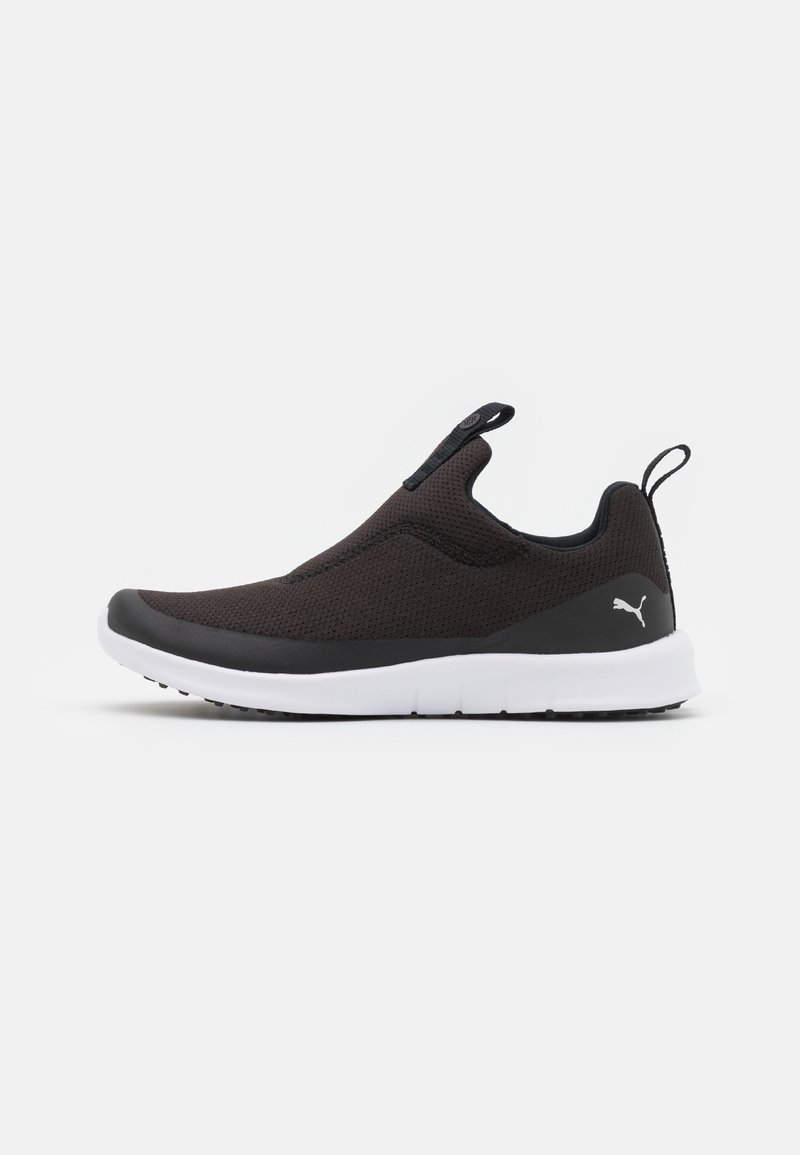Puma Golf - LAGUNA FUSION SLIP ON - Chaussures de golf - black/silver