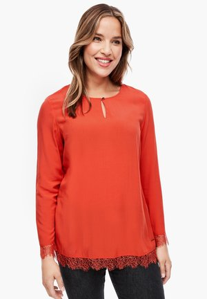 Tunic - pumpkin orange