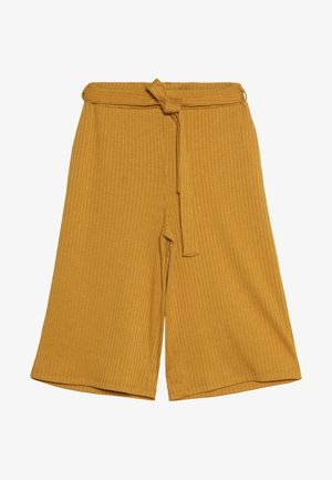 Trousers - mineral yellow