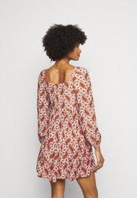 Faithfull the brand - NALINE DRESS - Denní šaty - burgundy - 2