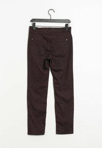 PETER HAHN - Trousers - purple - 1