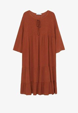 BAMBU-H - Denní šaty - burnt orange