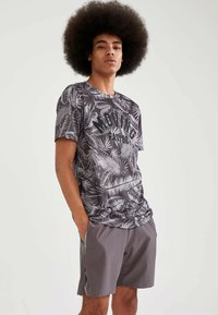 DeFacto Fit - Träningsshorts - anthracite - 3