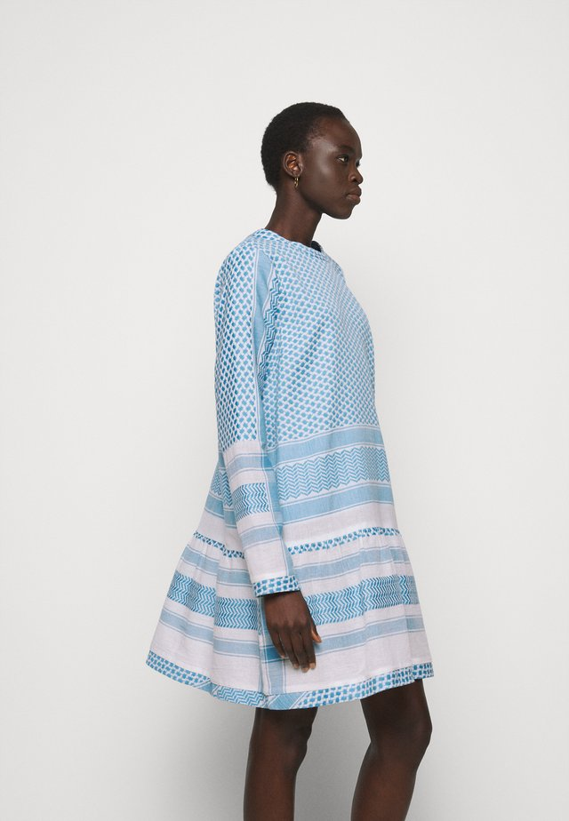 DRESS - Korte jurk - denim