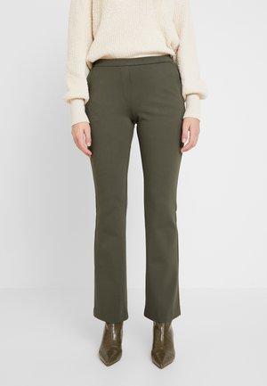 TANNY FLARE PANTS - Trousers - dark khaki