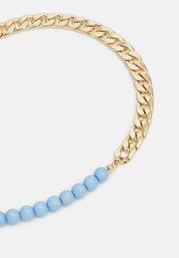 Pieces - PCBELLI NECKLACE - Necklace - gold-coloured/blue - 2