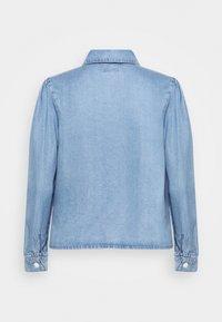 ONLY - ONLBILLIE DENIM LIFE DNM SHIRT QYT - Košile - medium blue denim - 1