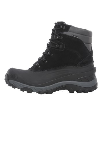 M CHILKAT IV - Lace-up ankle boots - tnf black/dark shadow gr