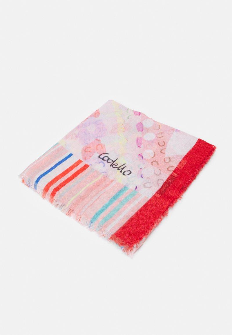 Codello - PARROTS HERRINGBONE - Šátek - light pink